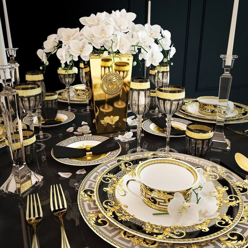 tea and coffee sets Versace Home's Tea and Coffee Sets for Your Luxury Coffee Table Versace4