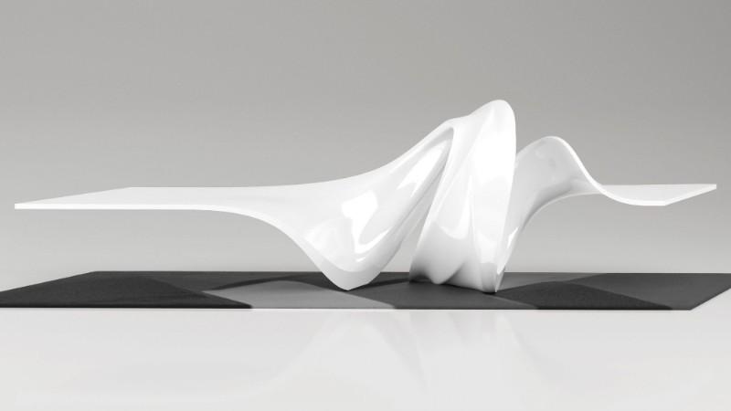 Zaha Hadid Design brings the new Le-A Coffee Table zaha hadid design Zaha Hadid Design brings the new Le-A Coffee Table Le A Coffee Table By Zaha Hadid Design 1