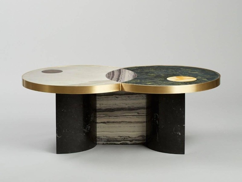 2019 Design Trends – The New Coffee and Side Tables by Lara Bohinc lara bohinc 2019 Design Trends – The New Coffee and Side Tables by Lara Bohinc Sun and Moon Coffee Table Lara Bohinc Lapicida 2 master 1