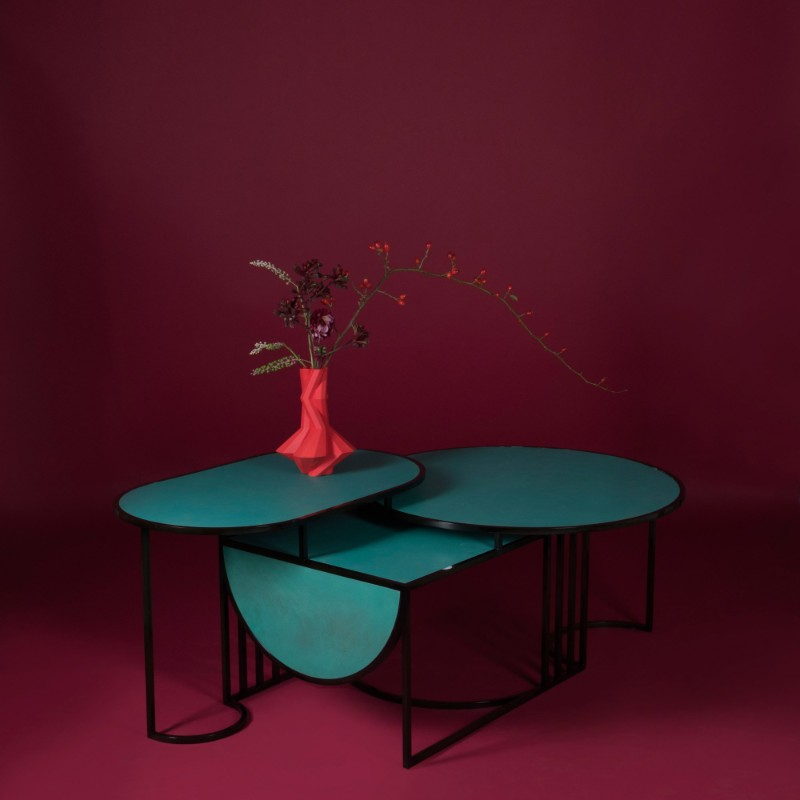 Design Trends for 2019 – The The Most Stunning Coffee and Side Tables by Lara Bonhinc lara bohinc 2019 Design Trends – The New Coffee and Side Tables by Lara Bohinc The Orbit Coffee Table Bohinc Studio