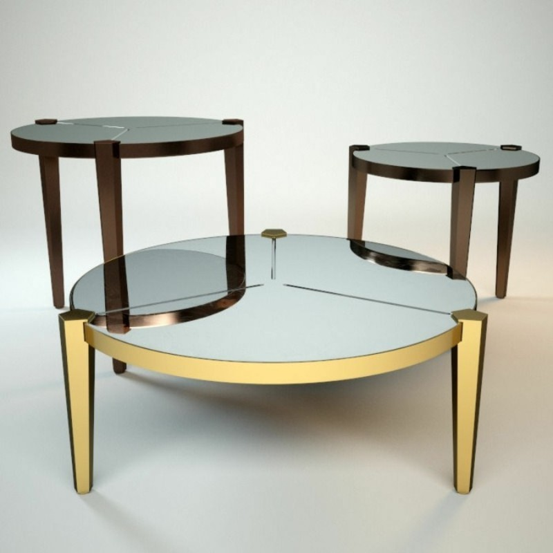 coffee tables Take a Look At These Retro Coffee Tables By Fendi Casa 2 2