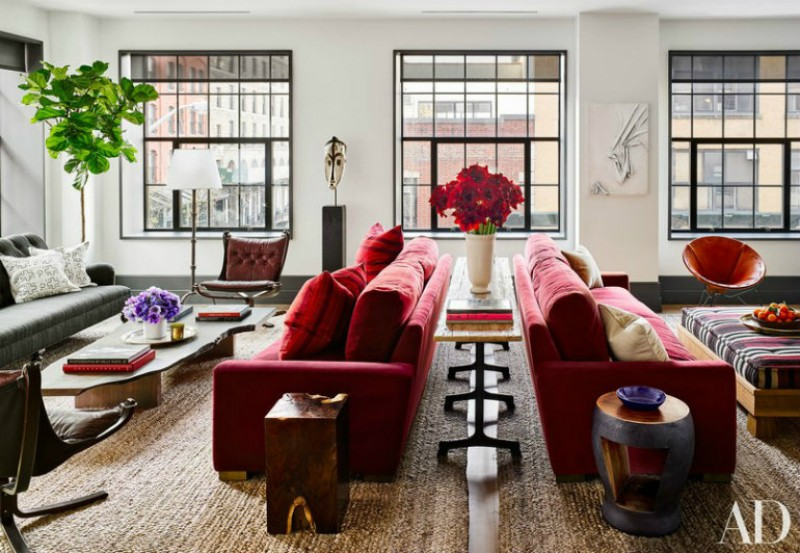 living room Be Astonished By These Celebrities Luxury Living Room Designs 5 3