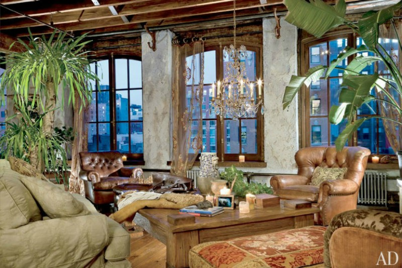 living room Be Astonished By These Celebrities Luxury Living Room Designs 7 3