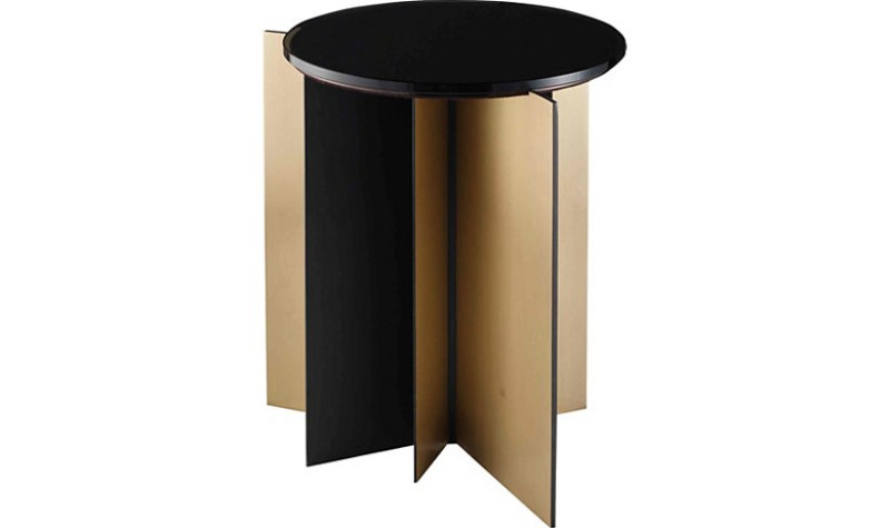 Contemporary Side Tables by Baker Furniture contemporary side tables Contemporary Side Tables by Baker Furniture 8759 GRAPHITE 3QTR