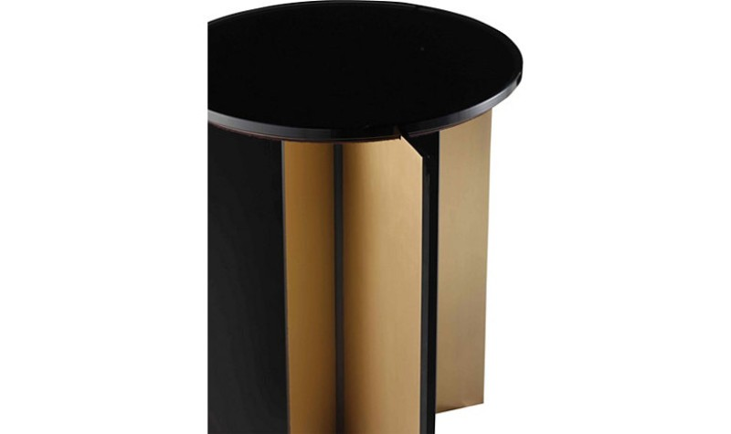 Contemporary Side Tables by Baker Furniture contemporary side tables Contemporary Side Tables by Baker Furniture 8759 GRAPHITE DET1