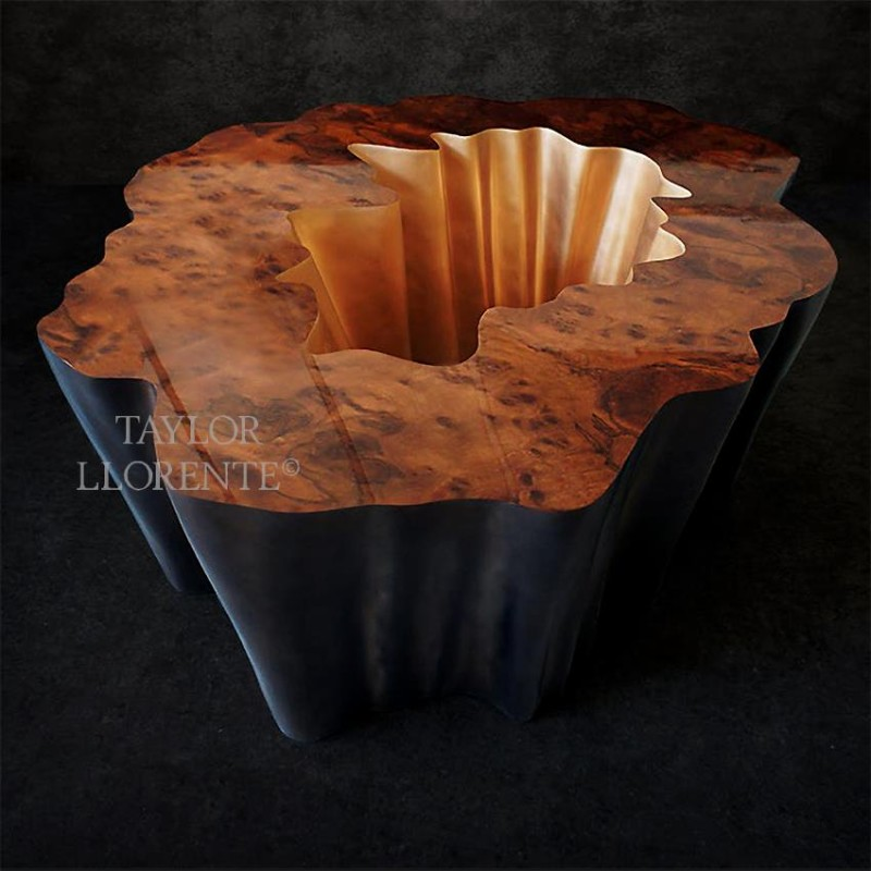 Modern Coffee Tables By Taylor Llorente modern coffee tables Modern Coffee Tables By Taylor Llorente sculptural cocktail table 01