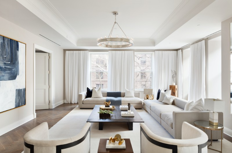 Living Room Ideas by Stephen Sills living room ideas Living Room Ideas by Stephen Sills CheckOutTheNewlyRevealedStephenSills DesignedModelUnitAtTheLuxurious101West78thStreet 1