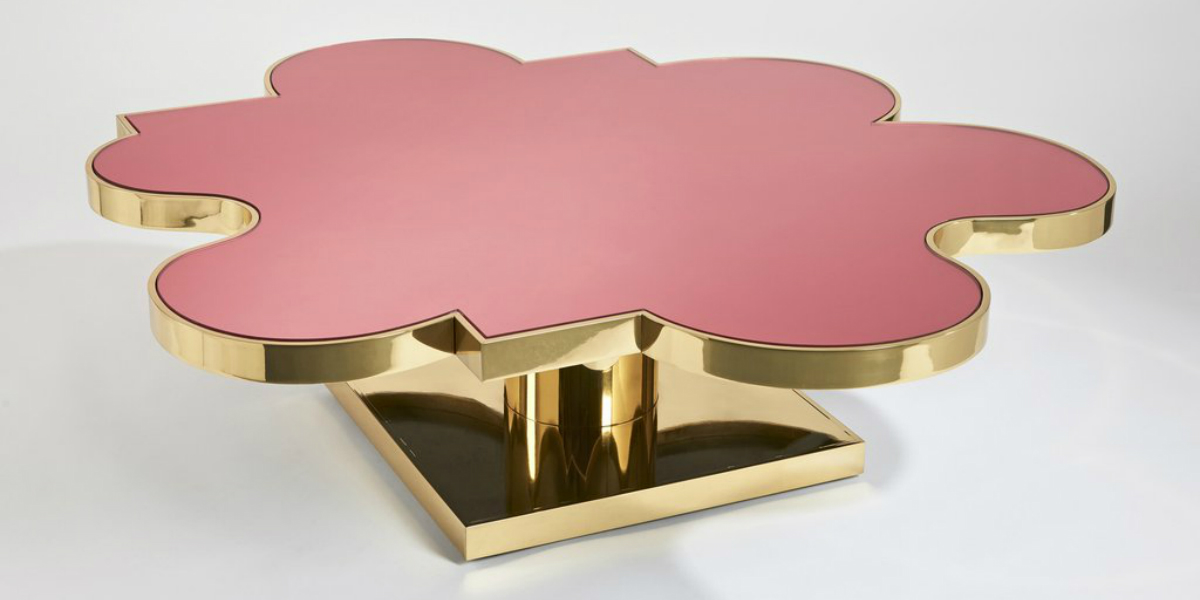 hubert le gall Hubert Le Gall's Flowery-Like Side Tables feature