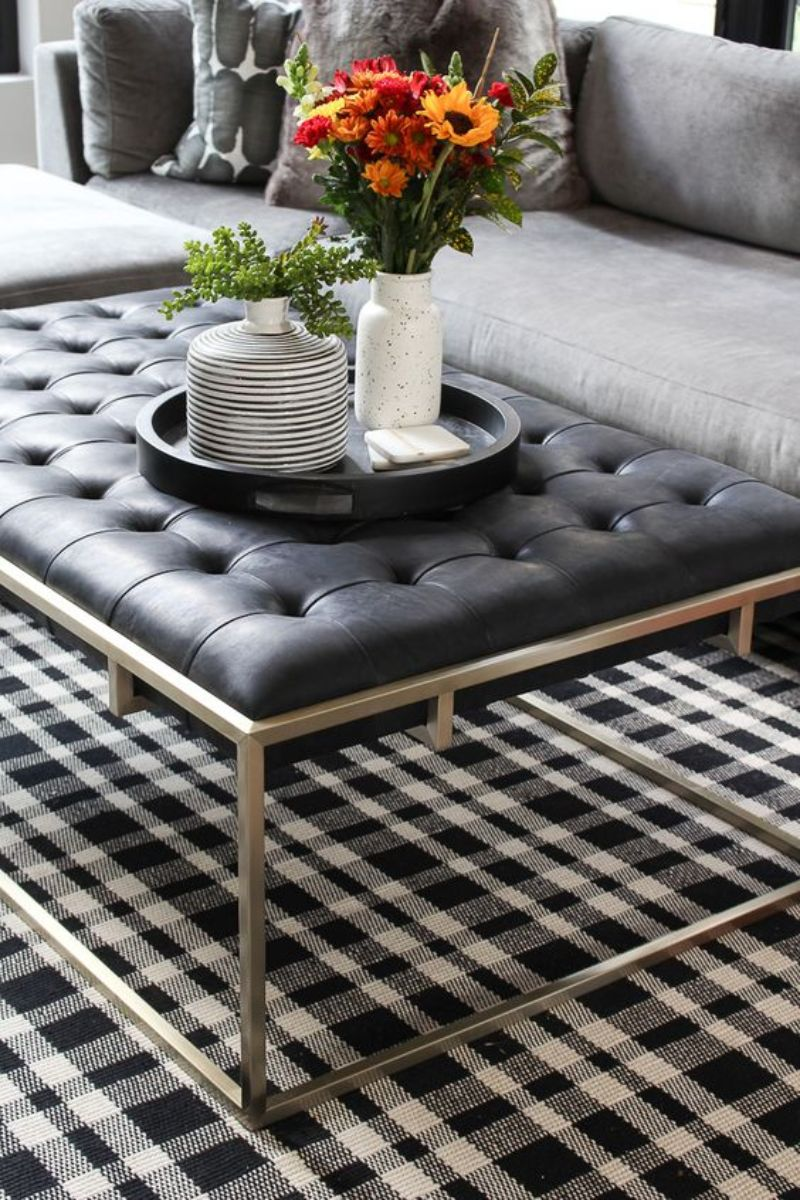side tables Best Materials for Your Coffee and Side Tables leather
