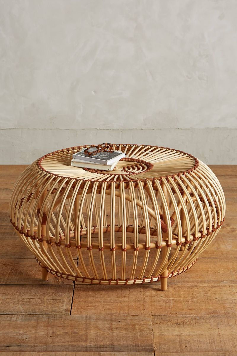 side tables Best Materials for Your Coffee and Side Tables rattan