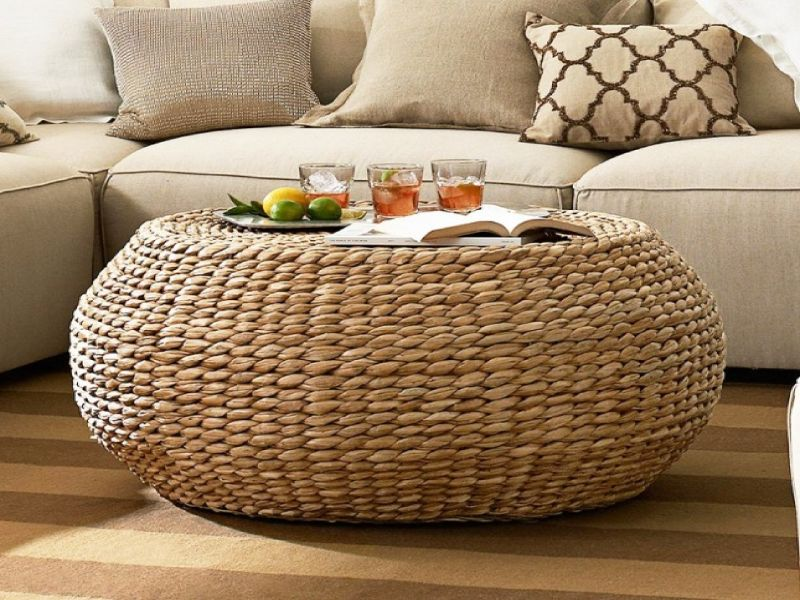 side tables Best Materials for Your Coffee and Side Tables rattan2