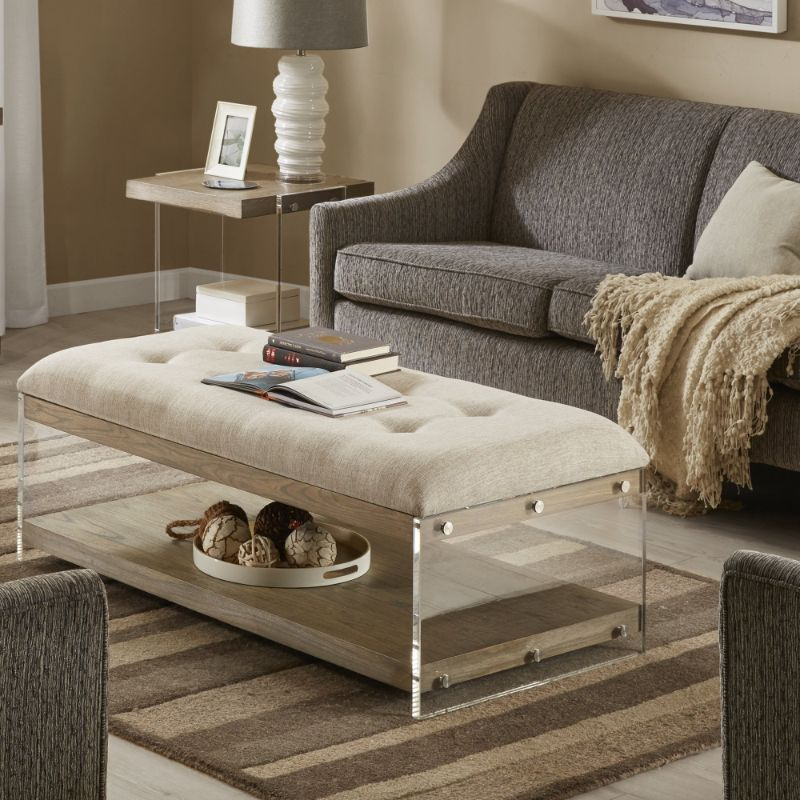 side tables Best Materials for Your Coffee and Side Tables upholstered