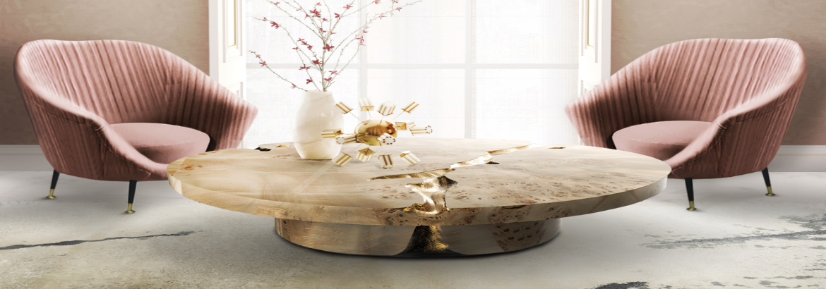 round coffee tables Get Impressed by 10 Round Coffee Tables for a Modern Living Room featurecst