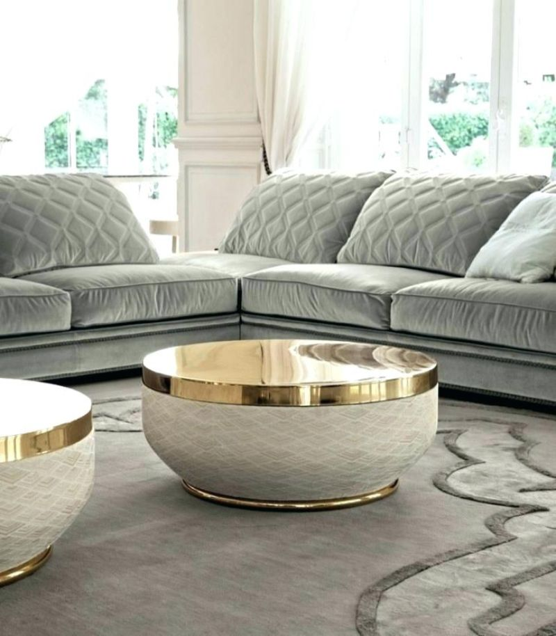 round coffee tables Get Impressed by 10 Round Coffee Tables for a Modern Living Room taylor llorente
