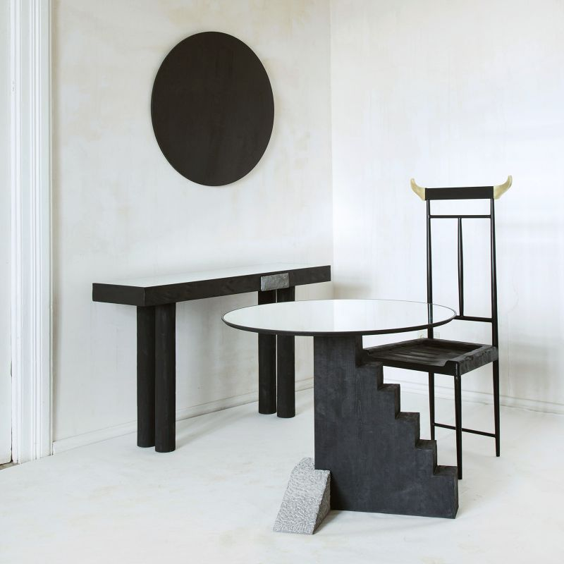 Rossana Orlandi's Incredibly Artistic Side Tables rossana orlandi Find Out Rossana Orlandi's Best Decorative Gems Orlandis Incredibly Artistic Side Tables 8