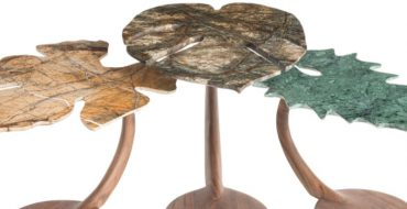 rossana orlandi Rossana Orlandi's Incredibly Artistic Side Tables Orlandis Incredibly Artistic Side Tables feature 370x190