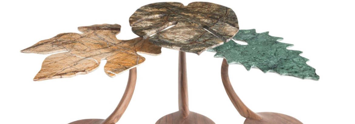 rossana orlandi Rossana Orlandi's Incredibly Artistic Side Tables Orlandis Incredibly Artistic Side Tables feature