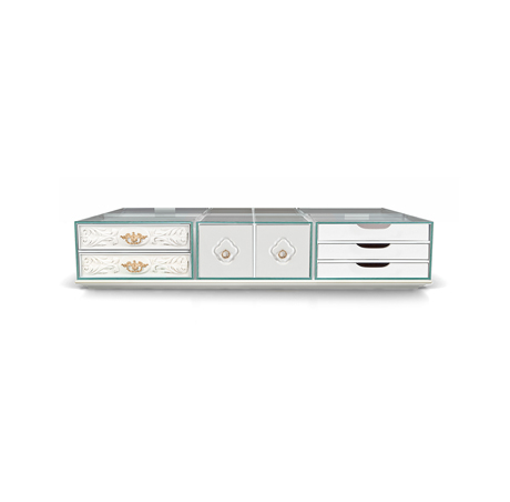 glass center tables Get Impressed By These 10 Marvelous Glass Center Tables soho coffee table white 01