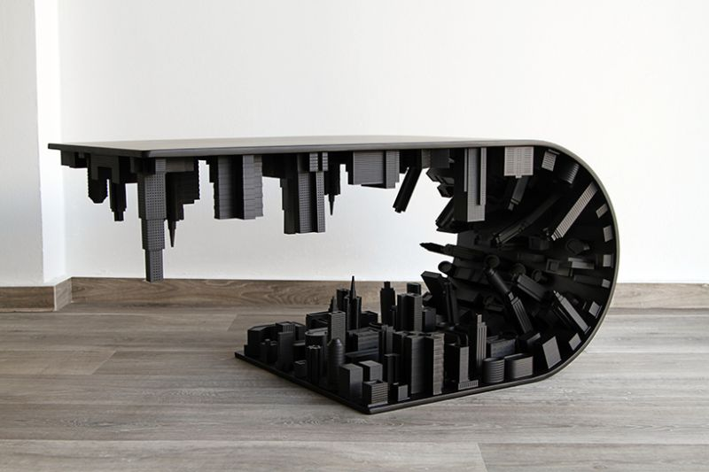 Skyscraping Modern Coffee Tables By Stelios Mousarris