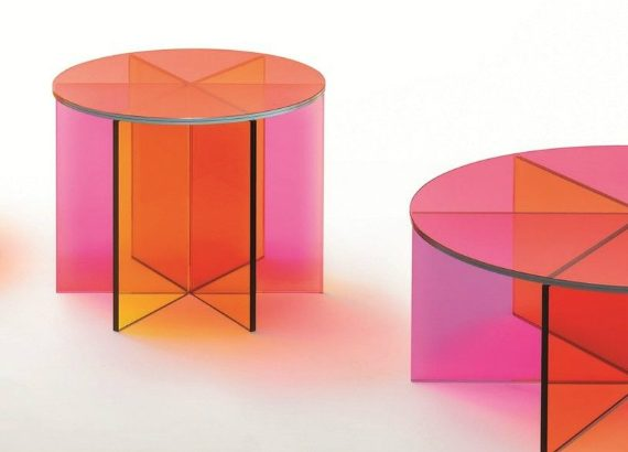 glas italia Glas Italia's Beautiful Glassy Creations coffee and side tables 570x410